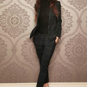 Zara two pieces matching blazer pants